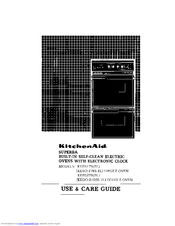 KitchenAid (KESO-176S BL) SINGLE OVEN Use & Care Manual