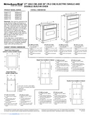 kitchenaid kebk171sss 27 single wall oven manuals rh manualslib com KitchenAid Range Wiring Diagram KitchenAid Oven Manual