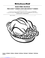 KitchenAid KESA907PSS   ARCHITECT Series: 30u0027u0027 Slide In Electric Range Use  And Care Manual (32 Pages)