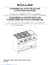 KitchenAid W10285550A Use And Care Manual