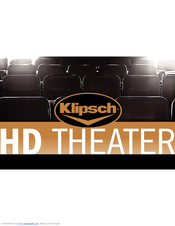 klipsch hd theater 300 manuals. Black Bedroom Furniture Sets. Home Design Ideas
