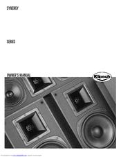 Klipsch Synergy SF-1 Manuals