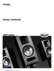 Klipsch Reference Series RB 61 II Owners Manual 24 Pages REFERENCE BOOKSHELF LOUDSPEAKERS