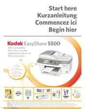 kodak easyshare 5500 all in printer manuals rh manualslib com Kodak EasyShare 5100 Printer Service Manual Owner's Manual Kodak EasyShare