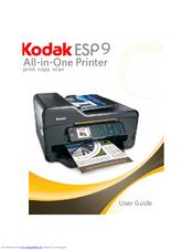 kodak esp 9 user manual pdf download rh manualslib com Kodak I5200 Kodak ESP 6100 Ink