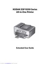 kodak esp 9200 extended user manual pdf download rh manualslib com Kodak I5200 Kodak I5200