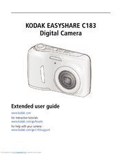 kodak easyshare c183 manuals rh manualslib com