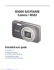 kodak easyshare m583 extended user manual pdf download rh manualslib com User Manual PDF Owner's Manual
