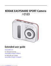 kodak easyshare sport c123 manuals rh manualslib com Kodak EasyShare Sport Manual Kodak EasyShare Sport Software