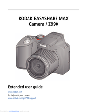 Kodak Z990 Extended User Manual