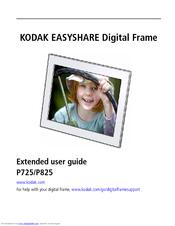 kodak p725 easyshare digital frame manuals rh manualslib com kodak easyshare sv710 digital picture frame manual kodak easyshare ex811 digital picture frame manual
