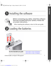 kodak easyshare c160 manuals rh manualslib com Kodak EasyShare M532 My Kodak Account