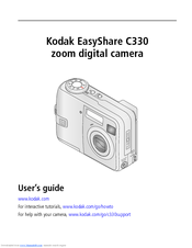 kodak easyshare c330 user manual pdf download rh manualslib com kodak easyshare c330 manual chargers Kodak EasyShare C813