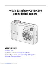 kodak easyshare c603 user manual pdf download rh manualslib com