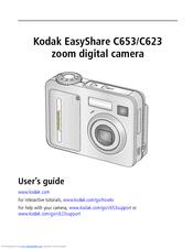 kodak easyshare c623 c623 user manual pdf download rh manualslib com