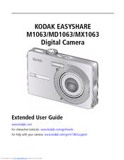 kodak easyshare m1063 easyshare md1063 manuals rh manualslib com My Kodak Account Kodak EasyShare Printer Dock