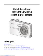 kodak easyshare m753 user manual pdf download rh manualslib com kodak user manual kodak easyshare z981 user manual