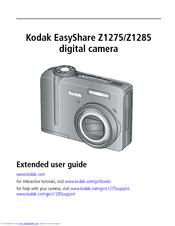 Kodak EasyShare Z1275 Extended User Manual