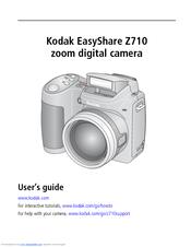 kodak easyshare z710 user manual pdf download rh manualslib com Online User Guide User Guide Template