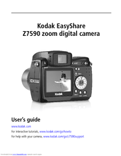 kodak easyshare z7590 user s guide manuals rh manualslib com Kodak EasyShare Mini Batteries Kodak EasyShare ZD710