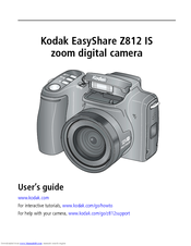 kodak easyshare z812 is manuals rh manualslib com Kodak Z812 IS Accessories kodak easyshare z812 is owner's manual