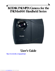 Palm m500 user's manual