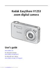 kodak v1253 easyshare digital camera manuals rh manualslib com