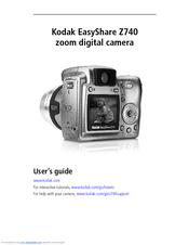 kodak z740 user manual pdf download rh manualslib com kodak easyshare z740 manual pdf kodak z710 manual download