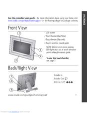 kodak m820 easyshare digital frame manuals rh manualslib com kodak easyshare p720 digital frame manual kodak easyshare digital frame manual