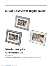 kodak p730 easyshare digital frame manuals rh manualslib com kodak easyshare sv1011 digital picture frame manual Owner's Manual Kodak EasyShare