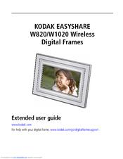 kodak w820 easyshare digital frame manuals rh manualslib com Instruction Manual Book User Manual Template