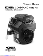 kohler command ch22s service manual