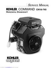 Kohler COMMAND CH18S Manuals | ManualsLib  ManualsLib