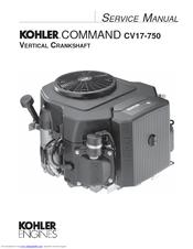 kohler command cv20 manuals rh manualslib com kohler cv20s repair manual Kohler Courage 20 Engine Diagram
