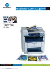 konica minolta magicolor 2480 mf manuals rh manualslib com Konica Minolta Magicolor Laser Color Printer Konica Minolta Magicolor 7450 Toner