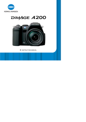 konica minolta dimage a200 manuals rh manualslib com Konica Minolta D Minolta DiMAGE Z3