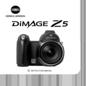 konica minolta dimage dimage z5 instruction manual pdf download rh manualslib com konica minolta dimage z5 instruction manual konica minolta dimage z5 review