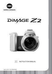 konica minolta dimage z2 instruction manual pdf download rh manualslib com Konica Minolta DiMAGE Z10 Konica Minolta DiMAGE A1
