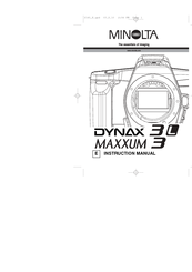 Amazon.com : Konica Minolta Maxxum 50 Date 28-100 35mm SLR Camera ...