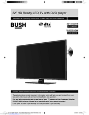 bush 32 133dvdb manuals rh manualslib com bush smart tv user manual bush television user manual