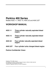perkins 404c 22 manuals rh manualslib com