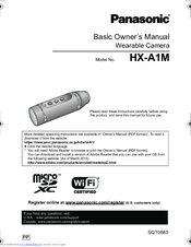 Panasonic HX-A1M Basic Owner's Manual