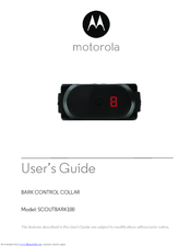 Motorola SCOUTBARK100 User Manual