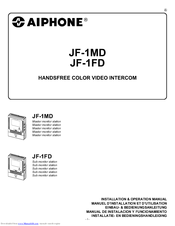 Aiphone Jf 1md Manuals