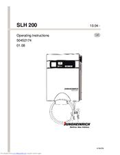 jungheinrich slh 200 manuals rh manualslib com Jungheinrich Comapny Log Jungheinrich Eje 120