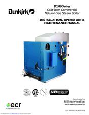 DUNKIRK D249 SERIES INSTALLATION, OPERATION & MAINTENANCE ... on fireplace wiring diagram, tekmar wiring diagram, central heating wiring diagram, bell and gossett wiring diagram,