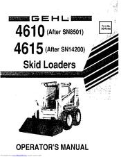 Gehl 4615 Manuals