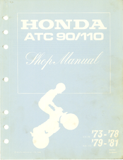 Honda ATC 110 Shop Manual