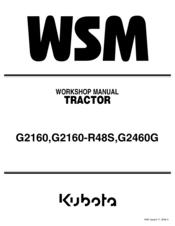 Kubota G2160 Manuals