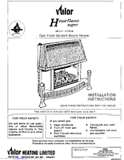 valor homeflame 470mn manuals rh manualslib com